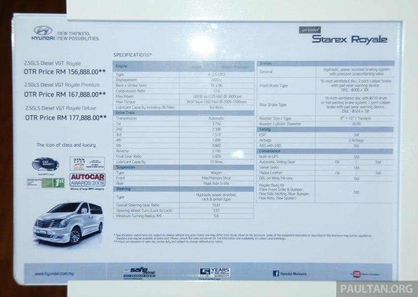 GALLERY: Hyundai Sports Series and new Starex MPV Image #237736
