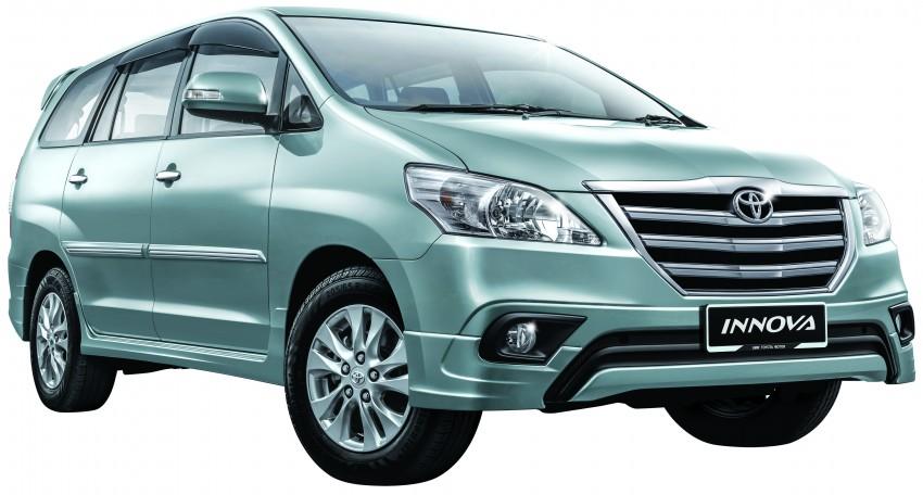 Toyota Innova facelift specs revealed – RM98k-111k Image #238533