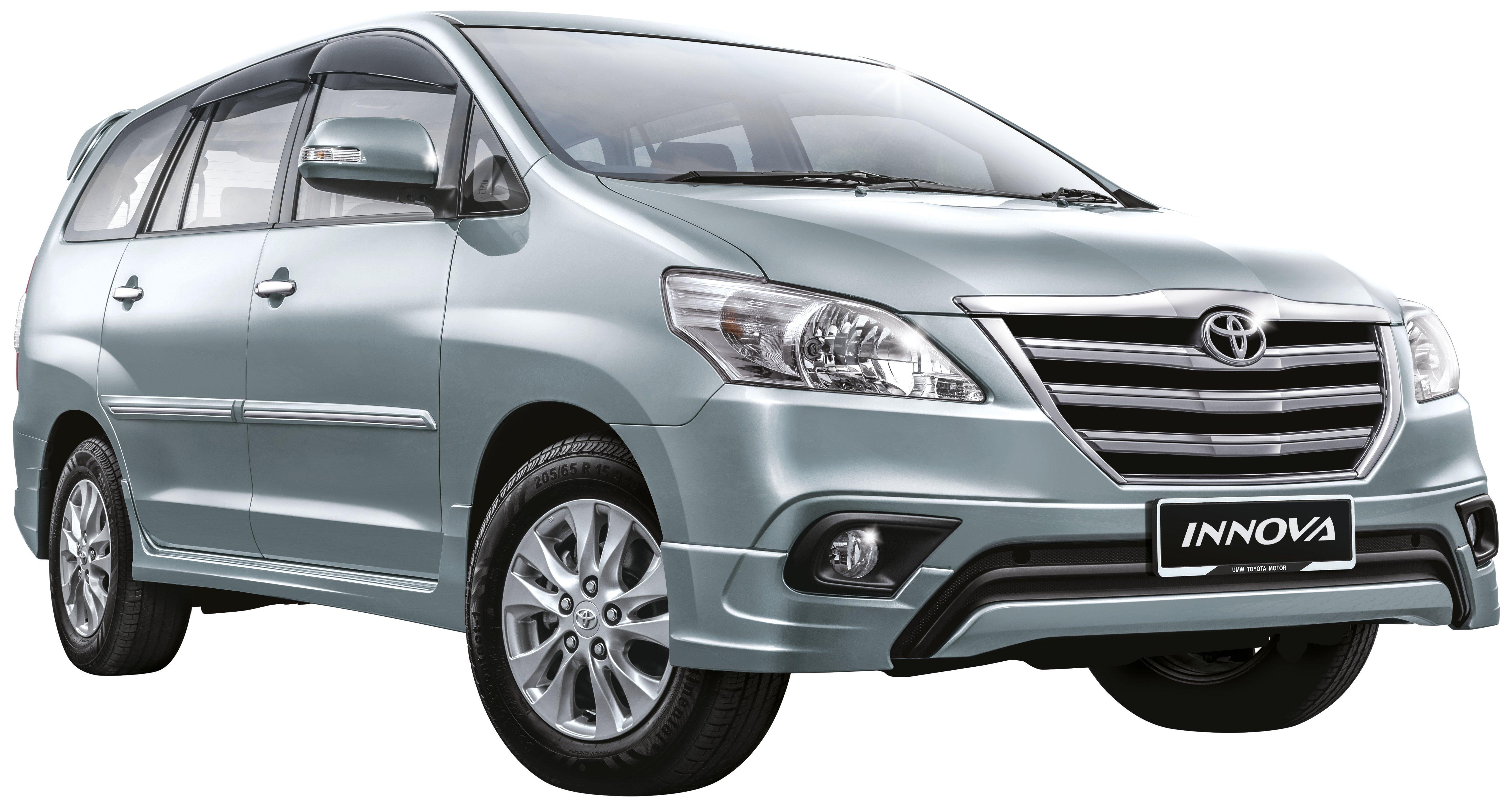 Toyota Innova Facelift Specs Revealed Rm98k 111k Image