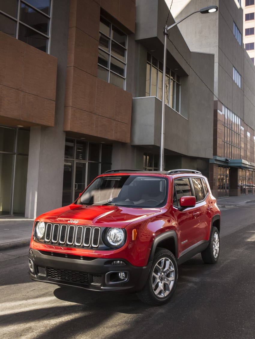 Jeep Renegade – like a Jeep, but not as we know it Image #233072