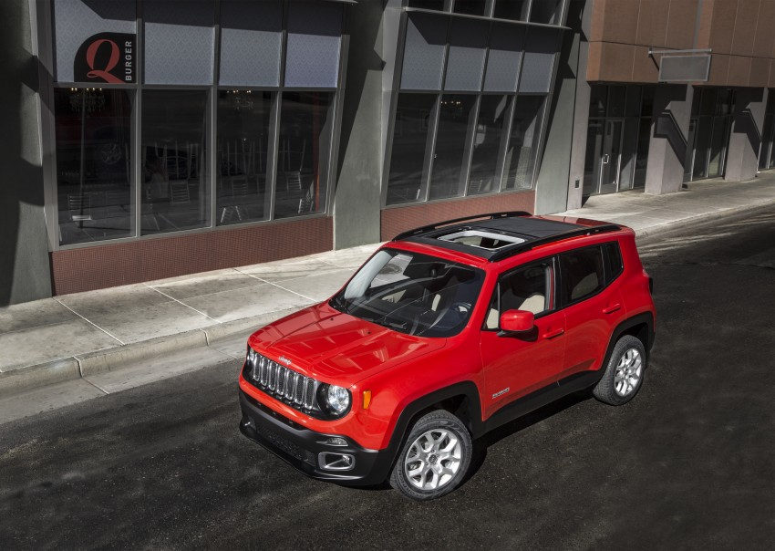 Jeep Renegade – like a Jeep, but not as we know it Image #233075