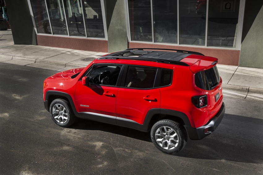 Jeep Renegade – like a Jeep, but not as we know it Image #233056