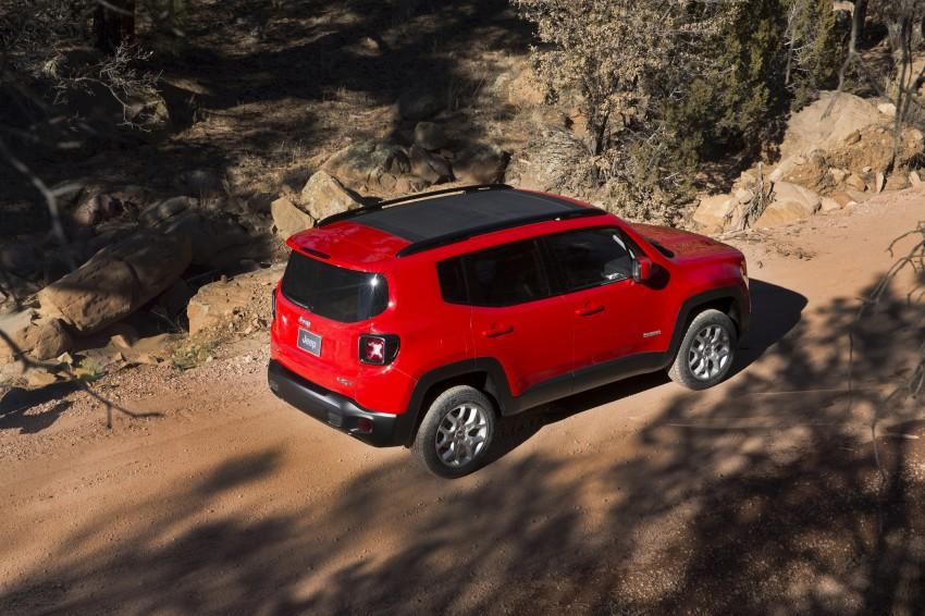 Jeep Renegade – like a Jeep, but not as we know it Image #233042