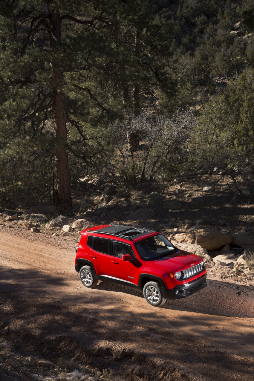 Jeep Renegade – like a Jeep, but not as we know it Image #233044