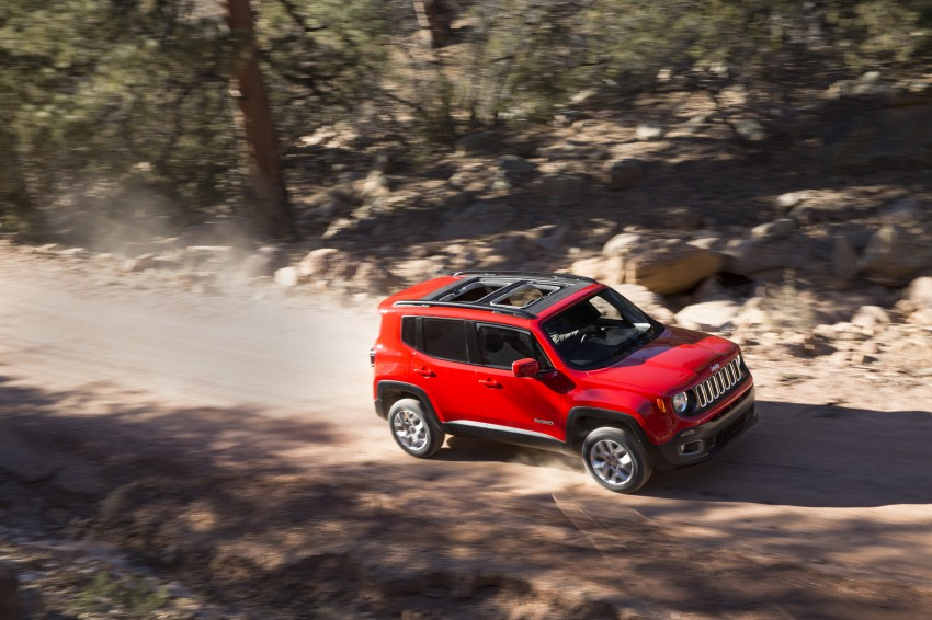 Jeep Renegade – like a Jeep, but not as we know it Image #233045