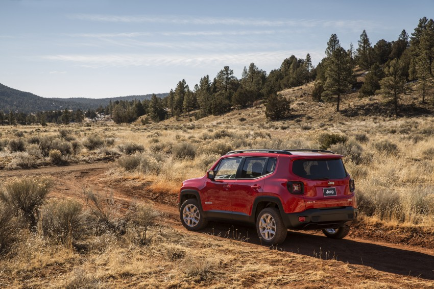 Jeep Renegade – like a Jeep, but not as we know it Image #233015