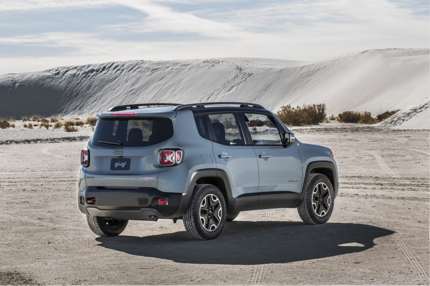 Jeep Renegade – like a Jeep, but not as we know it Image #233017