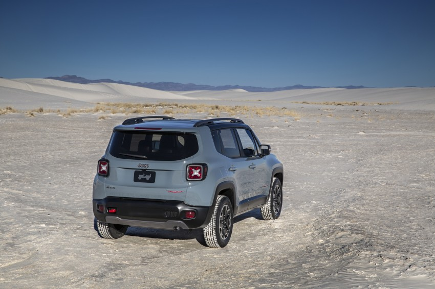 Jeep Renegade – like a Jeep, but not as we know it Image #233024