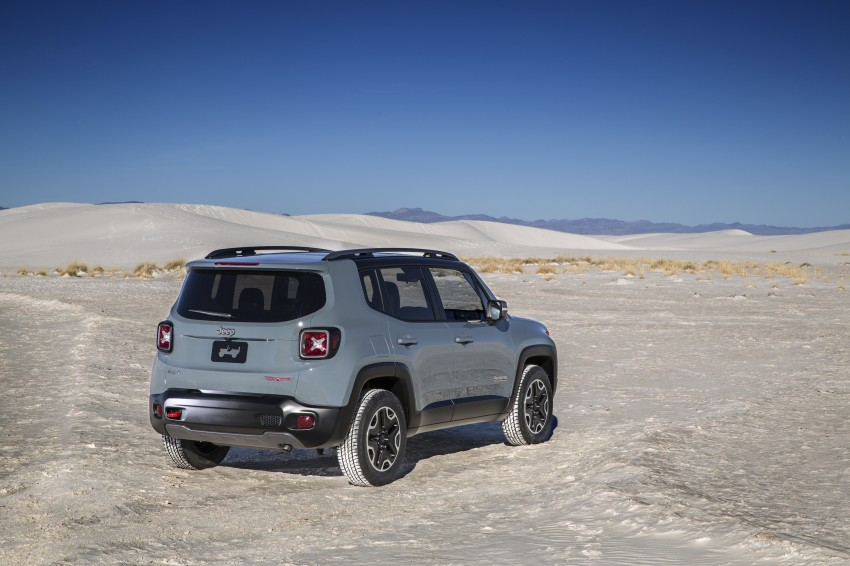 Jeep Renegade – like a Jeep, but not as we know it Image #233025