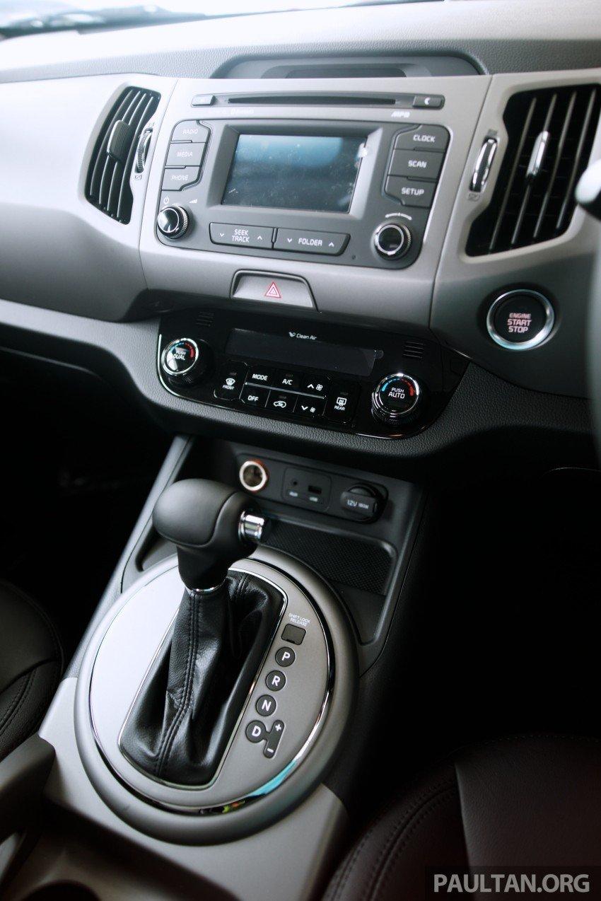 Kia Sportage facelift launched – Nu 2.0L, RM138,888 Image #234986