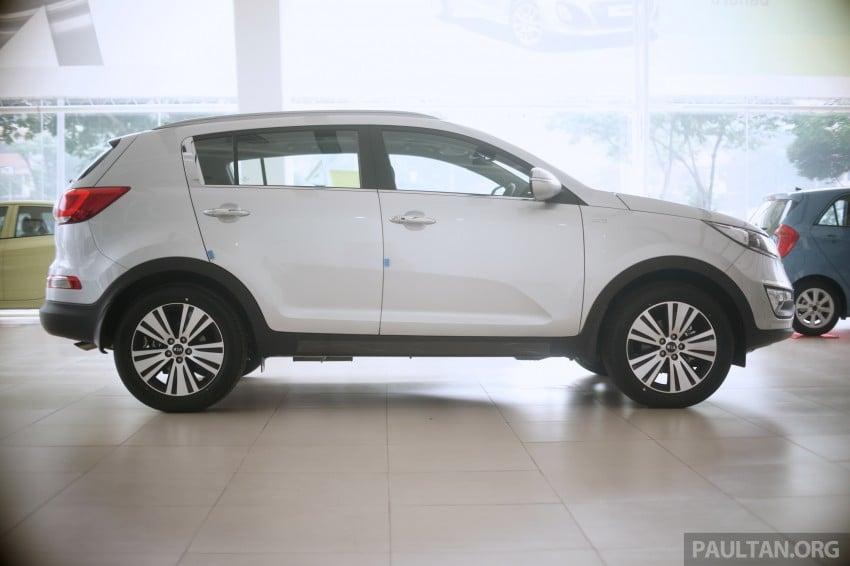 Kia Sportage facelift launched – Nu 2.0L, RM138,888 Image #235005