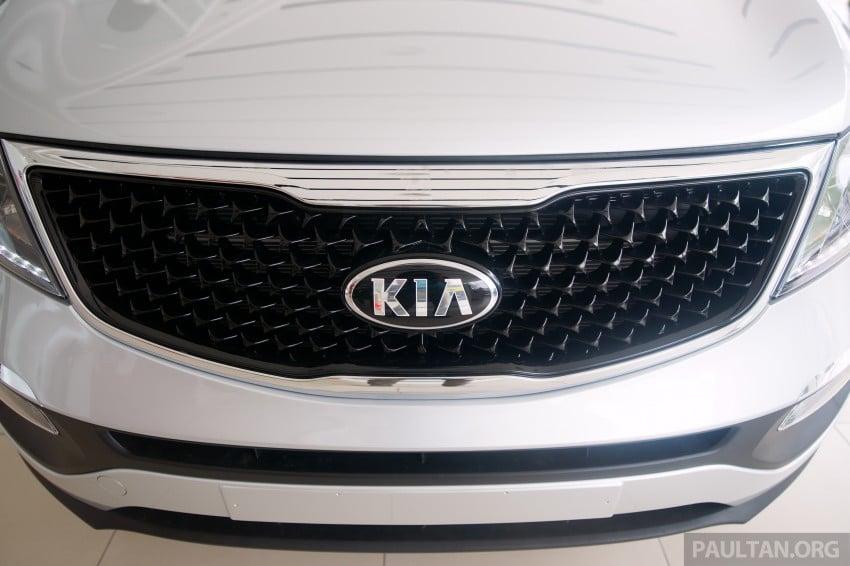 Kia Sportage facelift launched – Nu 2.0L, RM138,888 Image #235010