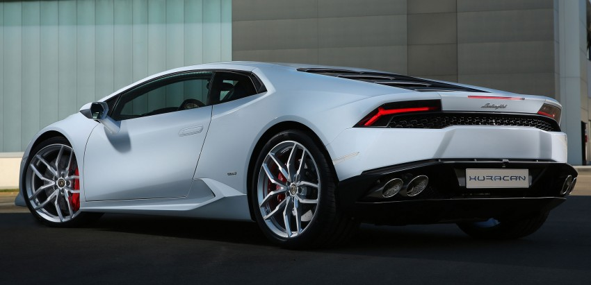 Lamborghini Huracan LP 610-4 makes Geneva debut Image #234590