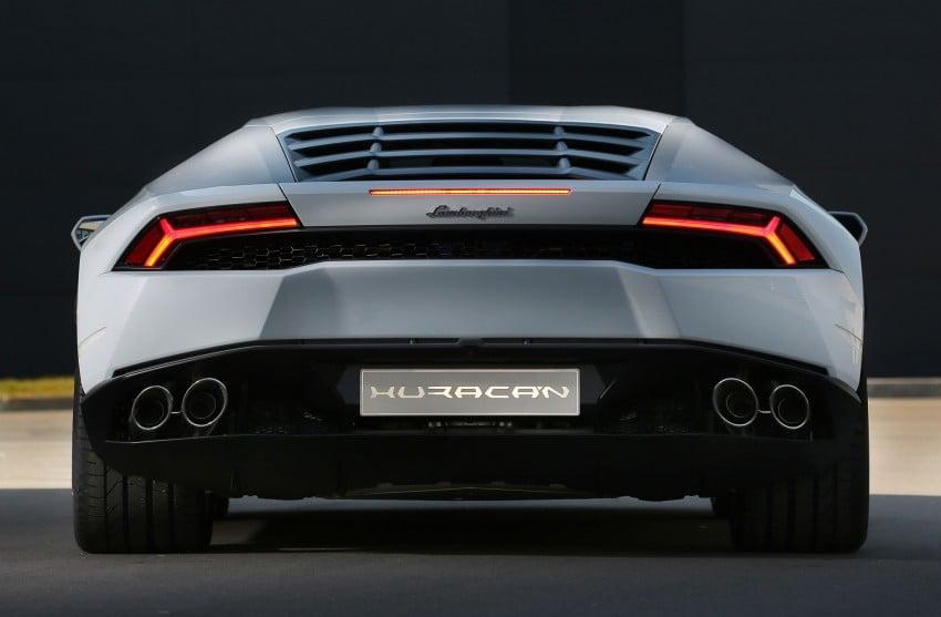 Lamborghini Huracan LP 610-4 makes Geneva debut Image #234593