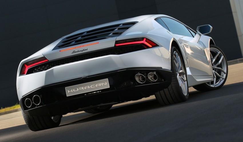 Lamborghini Huracan LP 610-4 makes Geneva debut Image #234594
