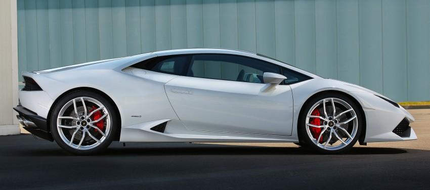 Lamborghini Huracan LP 610-4 makes Geneva debut Image #234595