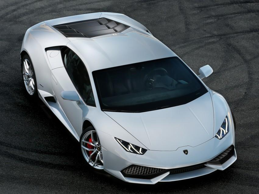 Lamborghini Huracan LP 610-4 makes Geneva debut Image #234597