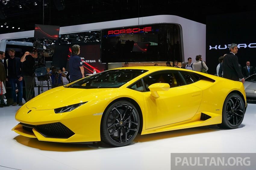 Lamborghini Huracan LP 610-4 makes Geneva debut Image #234614