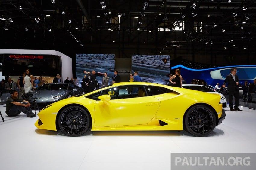 Lamborghini Huracan LP 610-4 makes Geneva debut Image #234628