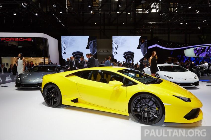 Lamborghini Huracan LP 610-4 makes Geneva debut Image #234630