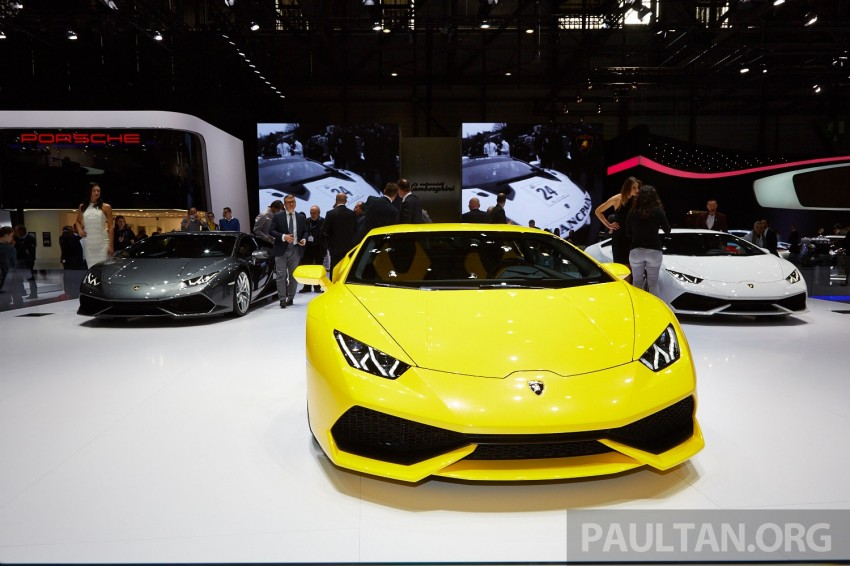 Lamborghini Huracan LP 610-4 makes Geneva debut Image #234631