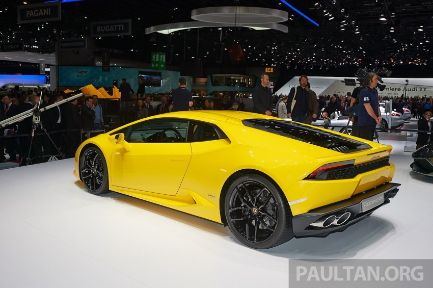 Lamborghini Huracan LP 610-4 makes Geneva debut Image #234616
