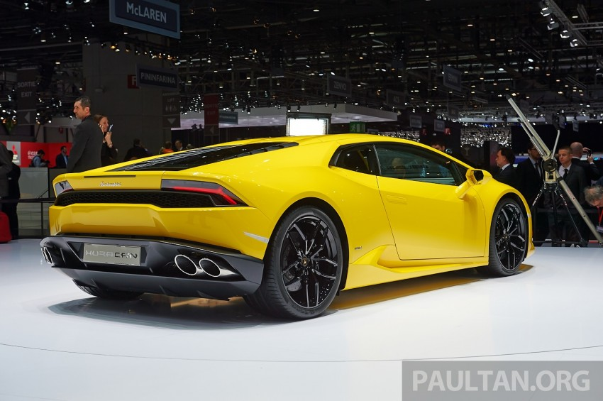 Lamborghini Huracan LP 610-4 makes Geneva debut Image #234619