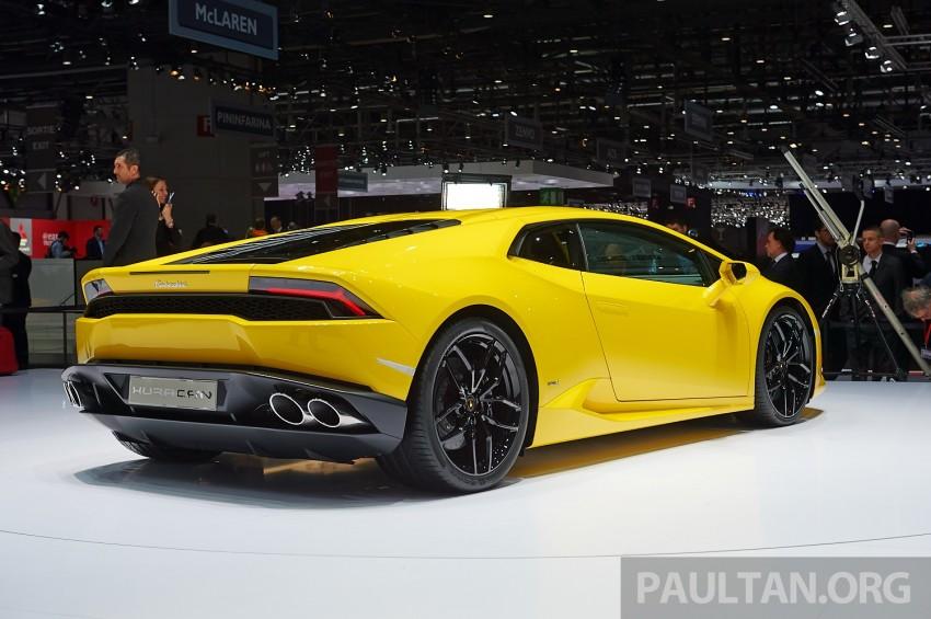 Lamborghini Huracan LP 610-4 makes Geneva debut Image #234619