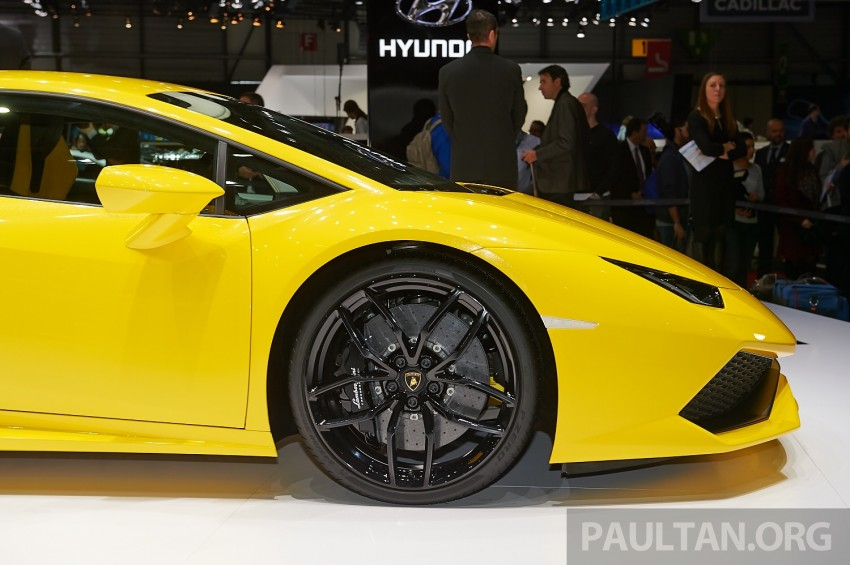 Lamborghini Huracan LP 610-4 makes Geneva debut Image #234620