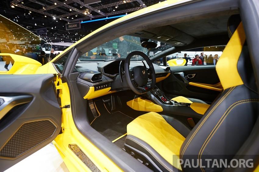 Lamborghini Huracan LP 610-4 makes Geneva debut Image #234621