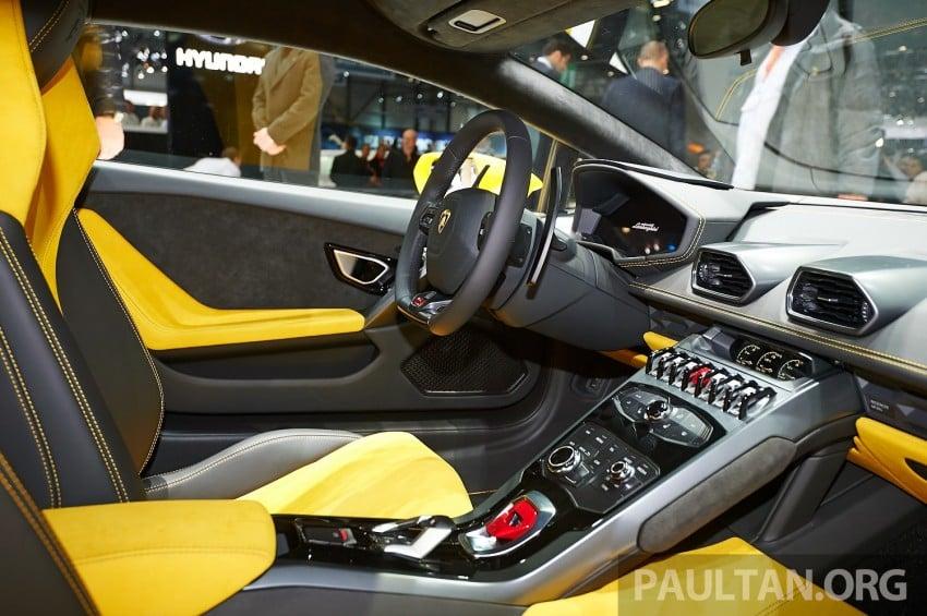 Lamborghini Huracan LP 610-4 makes Geneva debut Image #234623