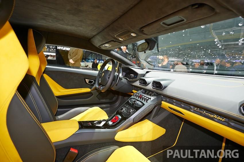 Lamborghini Huracan LP 610-4 makes Geneva debut Image #234624