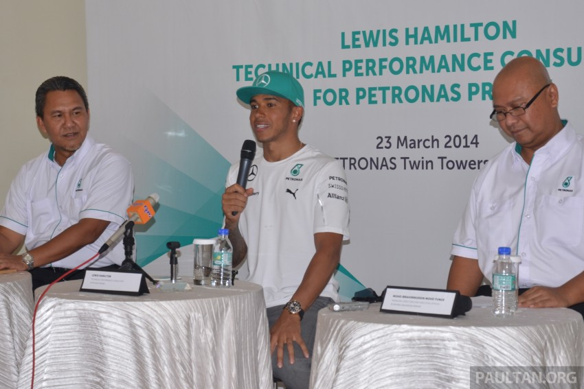 Lewis Hamilton appointed as technical performance consultant for Petronas Primax fuels Image #236595