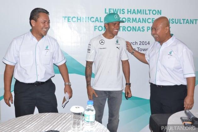 Lewis Hamilton Petronas Primax 2