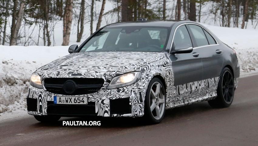 Mercedes-Benz readying next generation C63 AMG Image #233748