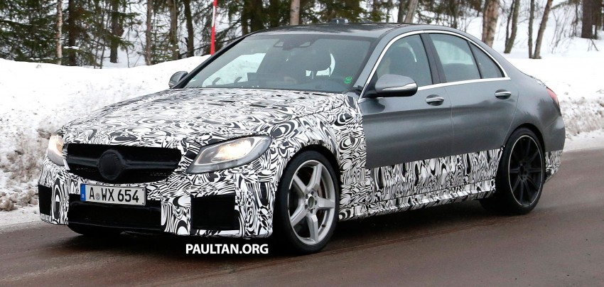 Mercedes-Benz readying next generation C63 AMG Image #233742
