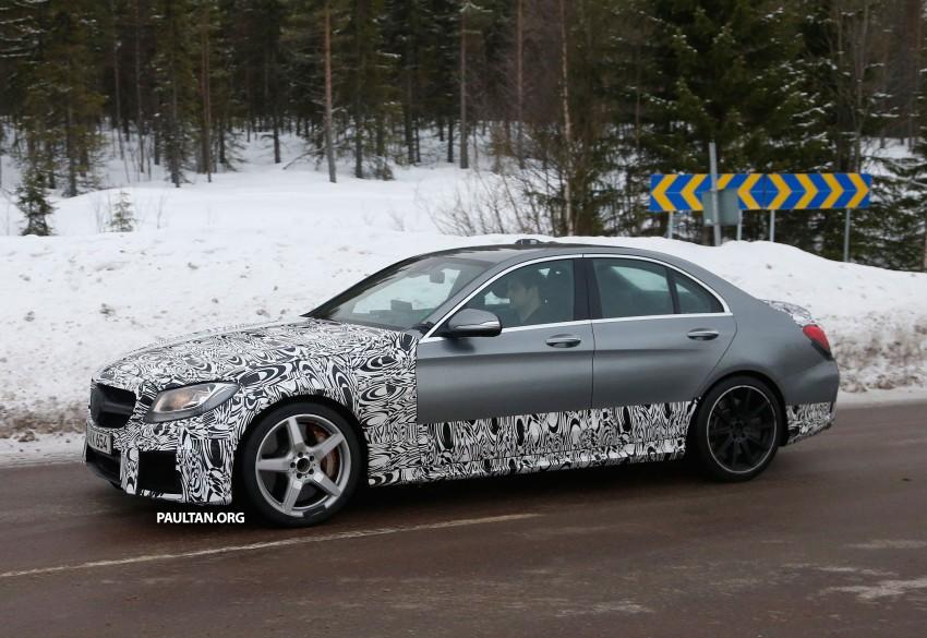 Mercedes-Benz readying next generation C63 AMG Image #233741