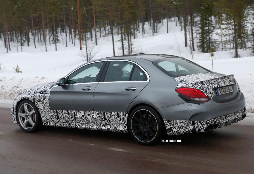 Mercedes-Benz readying next generation C63 AMG Image #233743