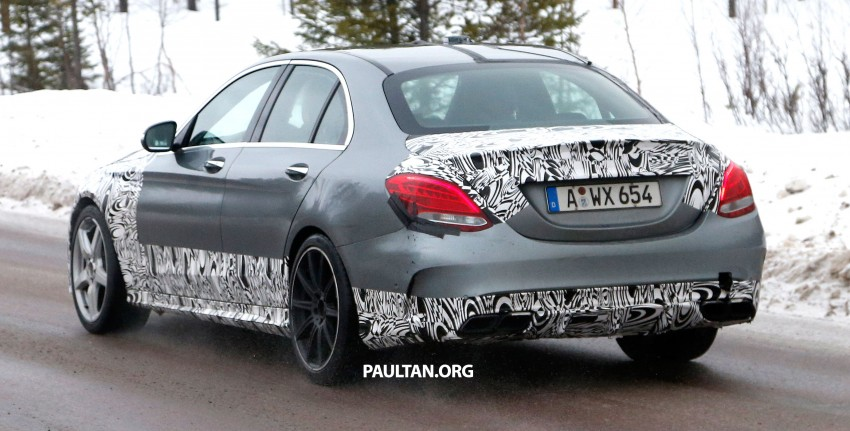Mercedes-Benz readying next generation C63 AMG Image #233747