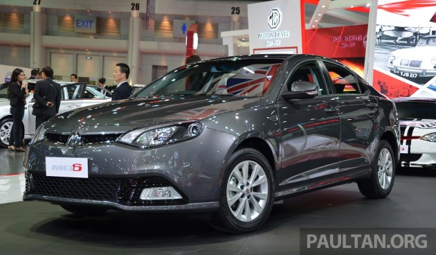 MG enters Thailand - MG6 to go on sale from June