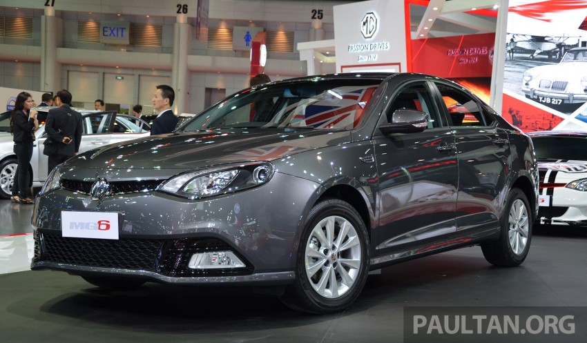 MG enters Thailand – MG6 to go on sale from June Image #237336