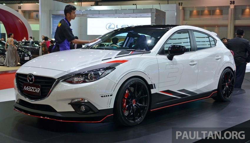 Next Mazda 3 MPS to get 300 hp 2.5 SkyActiv-G turbo