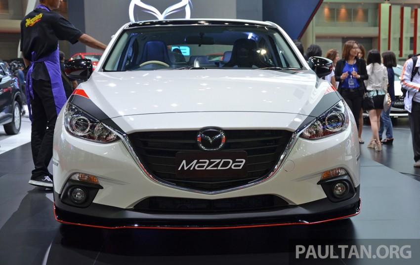 Bangkok 2014 Mazda 3 Hatchback All Dressed Up