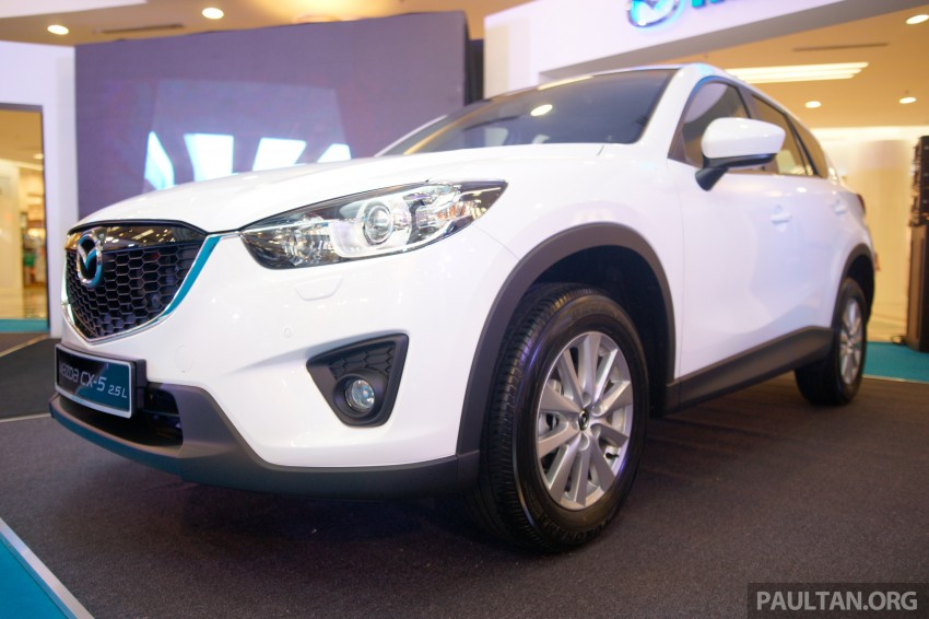 Mazda CX-5 2.5 launched: 2WD RM165k, 4WD RM175k Image #235880