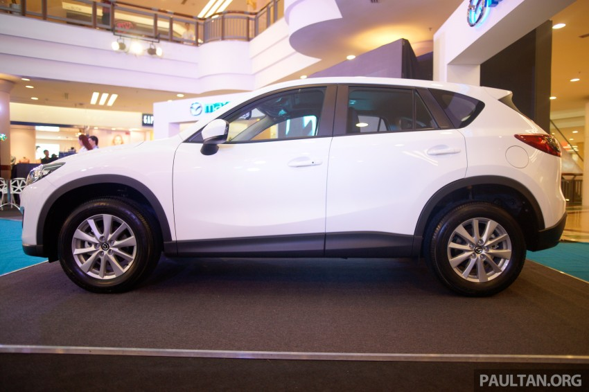 Mazda CX-5 2.5 launched: 2WD RM165k, 4WD RM175k Image #235881