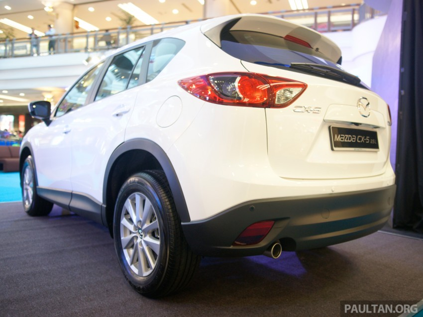 Mazda CX-5 2.5 launched: 2WD RM165k, 4WD RM175k Image #235882