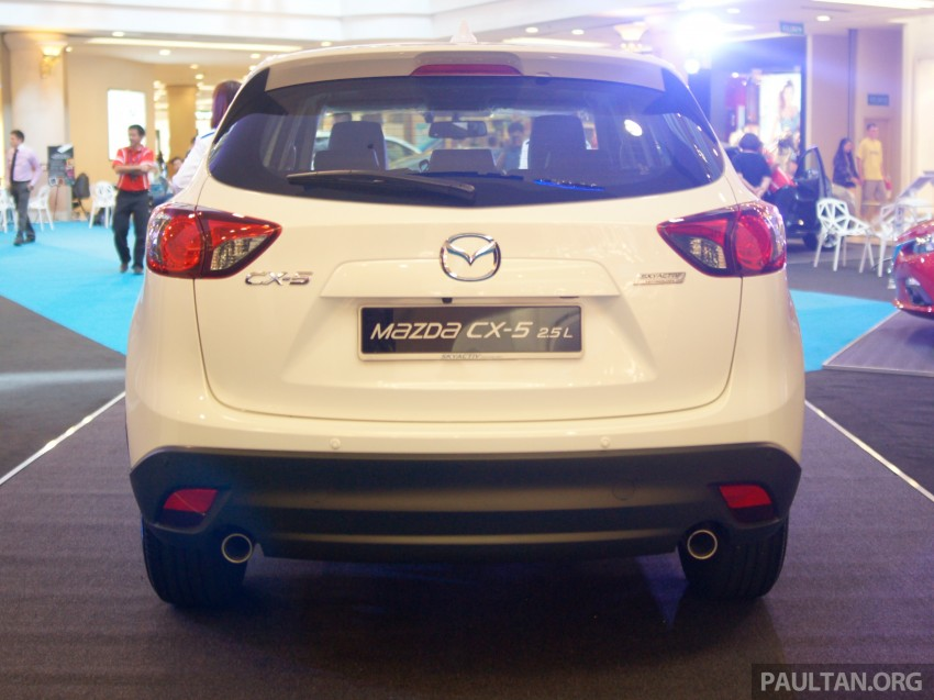 Mazda CX-5 2.5 launched: 2WD RM165k, 4WD RM175k Image #235883