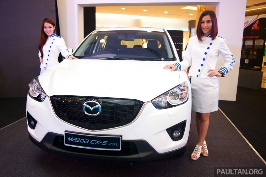 Mazda CX-5 2.5 launched: 2WD RM165k, 4WD RM175k Image #235884
