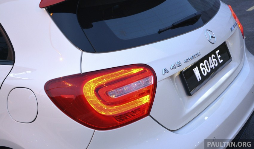 DRIVEN: Mercedes-Benz A 45 AMG – a double take Image #238398