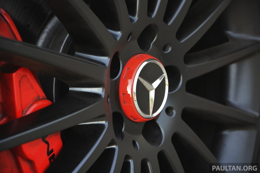 DRIVEN: Mercedes-Benz A 45 AMG – a double take Image #238388